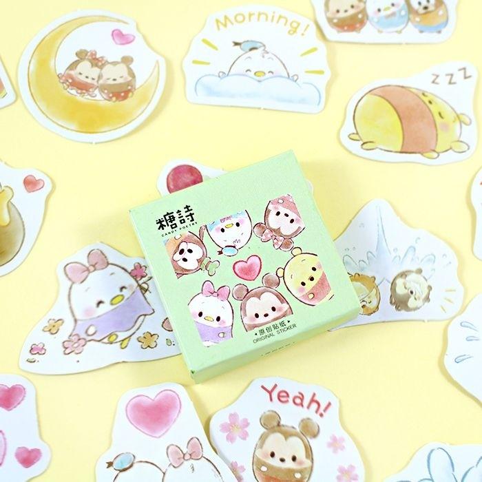 Boite de stickers Fluffy Disney
