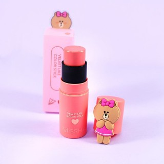 Velvet Like Color Stick Missha Line Friends Edition