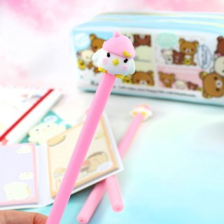 Stylo Pingouin Rose / Tamtokki.com - Boutique Kawaii en France IM#6442