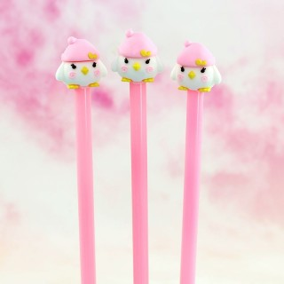 Stylo Pingouin Rose / Tamtokki.com - Boutique Kawaii en France IM#6443