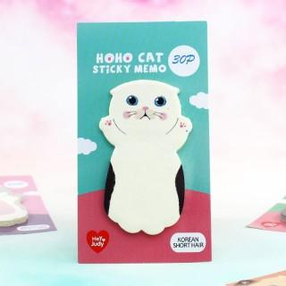 Hoho Cat Sticky Memo