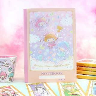 Cahier Card Captor Sakura X Little Twin Stars - Rose