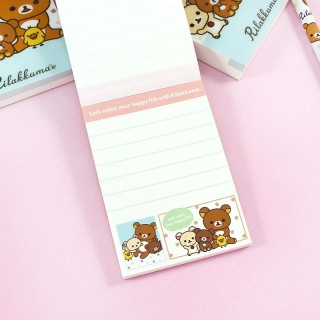 Mini Bloc Note Rilakkuma Family