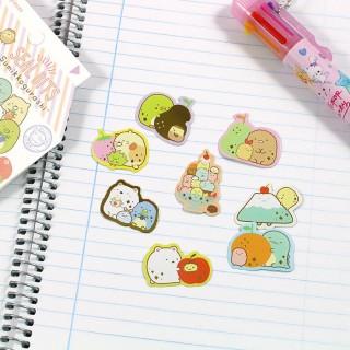 Pochette Sticker Sumikko Gurashi - Brique de Lait / Tamtokki.com - Boutique Kawaii en France IM#6720