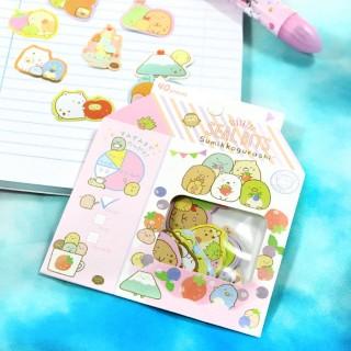 Pochette Sticker Sumikko Gurashi - Brique de Lait / Tamtokki.com - Boutique Kawaii en France IM#6721
