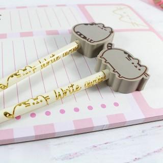 Crayon à Papier Pusheen avec Gomme / Tamtokki.com - Boutique Kawaii en France IM#6864