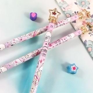 Crayon à Papier Enchanted Time Cats - Love Letter / Tamtokki.com - Boutique Kawaii en France IM#7114