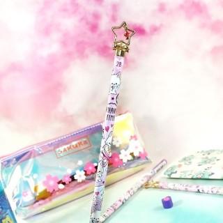 Crayon à Papier Enchanted Time Cats - Love Letter / Tamtokki.com - Boutique Kawaii en France IM#7115