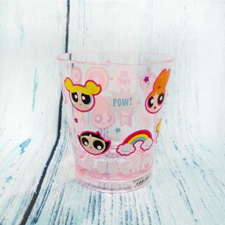 Verre Super Nanas Crystal Color Rose / Tamtokki.com - Boutique Kawaii en France IM#7217