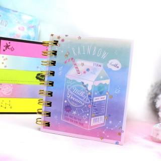 Petit Carnet Post-it - Rainbow / Tamtokki.com - Boutique Kawaii en France IM#7283