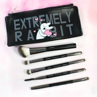 Set de pinceau + Pochette - FLALIA X Over Action Rabbit / Tamtokki.com - Boutique Kawaii en France IM#7516