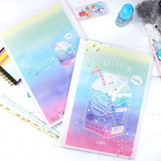 Cahier Rainbow Milky Dreams