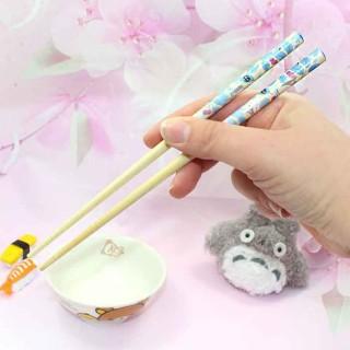 Baguettes Totoro - Feuilles Bleues