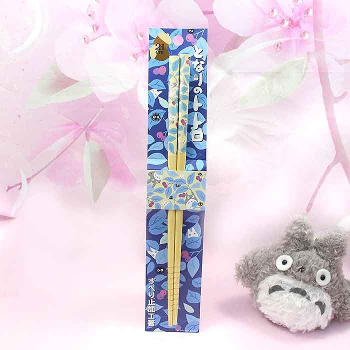 Baguettes Totoro - Feuilles Bleues / Tamtokki.com - Boutique Kawaii en France IM#8039