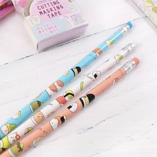 Crayon à Papier Sumikko Gurashi - Sushi / Tamtokki.com - Boutique Kawaii en France IM#8076