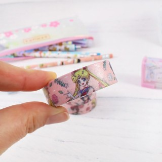 Washi Tape Sailor Moon - Fleurs