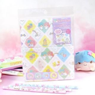 Set Papier à Lettre Sanrio - Little Twin Stars / Tamtokki.com - Boutique Kawaii en France IM#8212