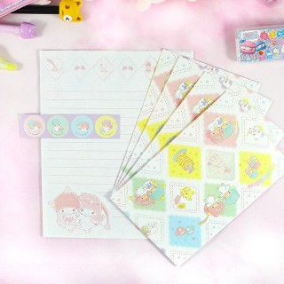 Set Papier à Lettre Sanrio - Little Twin Stars / Tamtokki.com - Boutique Kawaii en France IM#8214