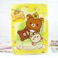 Pochette Plastique Rilakkuma - Honey Forest