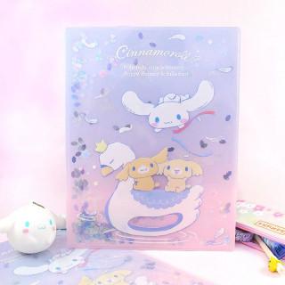 Pochette Plastique Sanrio Cinnamoroll - Cygne Pailletté / Tamtokki.com - Boutique Kawaii en France IM#8438