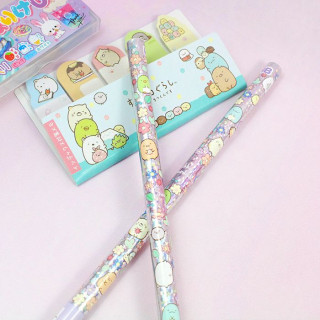 Crayon à Papier San-X Sumikko Gurashi - Hologramme Fleur / Tamtokki.com - Boutique Kawaii en France IM#8471