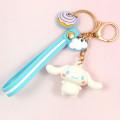 Porte-clés Sanrio Cinnamoroll - Figurine et Strap