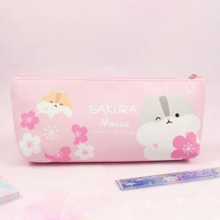 Trousse Hamster Sakura Mouse / Tamtokki.com - Boutique Kawaii en France IM#8789