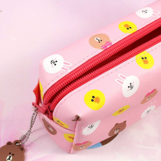 Trousse Line Friends Rose / Tamtokki.com - Boutique Kawaii en France IM#8808