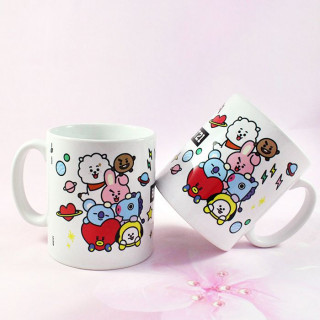 Mug BT21 / Tamtokki.com - Boutique Kawaii en France IM#8836