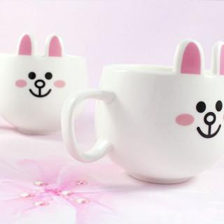 Mug Line Friends Cony / Tamtokki.com - Boutique Kawaii en France IM#8852