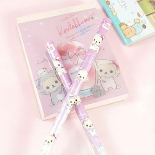 Crayon à Papier San-X Cute Twin Korilakuma - Violet / Tamtokki.com - Boutique Kawaii en France IM#8873