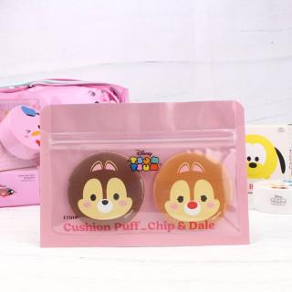 Etude House X Disney Tsum Tsum - Cushion Tic et Tac - Éponge à maquillage