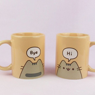 Mug Pusheen The Cat - Hi ! Bye ! / Tamtokki.com - Boutique Kawaii en France IM#8993