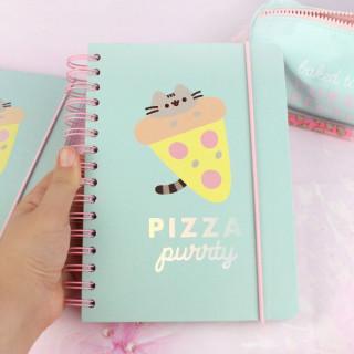 Bullet Journal Pusheen The Cat - Pizza Purrty / Tamtokki.com - Boutique Kawaii en France IM#9007