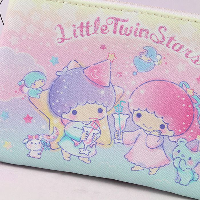 Porte-monnaie Sanrio Little Twin Stars - Cocktail