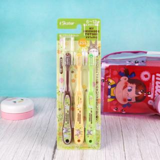 3 Brosses à dents pour enfants - Totoro Ghibli / Tamtokki.com - Boutique Kawaii en France IM#9226