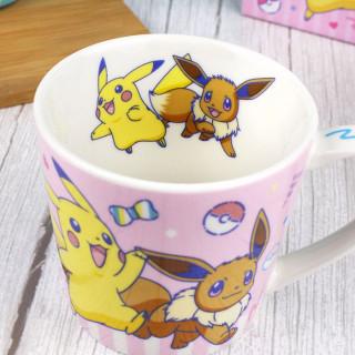 Mug Pokémon - Pikachu et Evoli / Tamtokki.com - Boutique Kawaii en France IM#9288