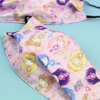 Masque Visage Tissu Sailor Moon - Chibi Sailor  sur Tamtokki Boutique Kawaii