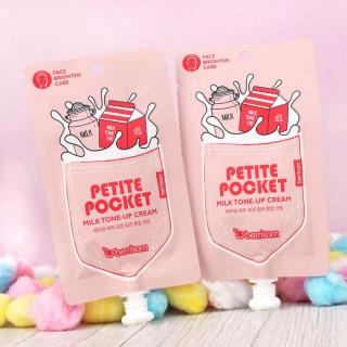 BERRISOM - Petite Pocket : Milk Tone-Up Cream - Crème Visage Éclaircissante / Tamtokki.com - Boutique Kawaii en France IM#9820