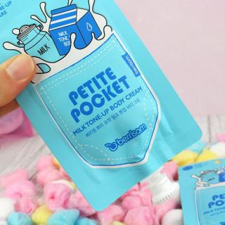 BERRISOM - Petite Pocket : Milk Tone-Up Cream - Crème Visage Éclaircissante / Tamtokki.com - Boutique Kawaii en France IM#9836