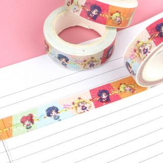 Washi Tape Sailor Moon - Colorful / Tamtokki.com - Boutique Kawaii en France IM#9942