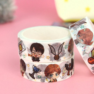 Washi Tape Harry Potter - Chibi  sur Tamtokki Boutique Kawaii
