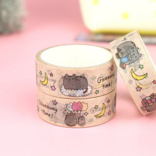 Washi Tape Pusheen The Cat - Giveaway Time ! / Tamtokki.com - Boutique Kawaii en France IM#9958