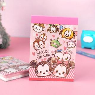 Bloc Note Disney Tusm Tsum - Love It  sur Tamtokki Boutique Kawaii
