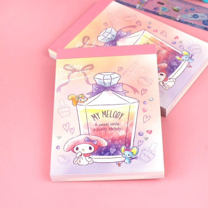 Bloc Note Sanrio My Melody - Sweet Smile / Tamtokki.com - Boutique Kawaii en France IM#9988