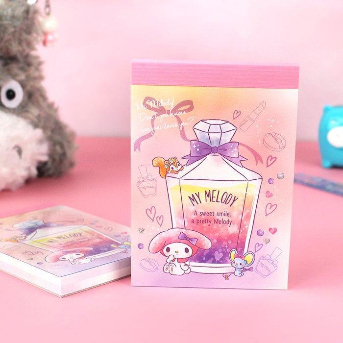 Bloc Note Sanrio My Melody - Sweet Smile / Tamtokki.com - Boutique Kawaii en France IM#9990
