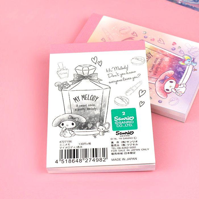 Bloc Note Sanrio My Melody - Sweet Smile / Tamtokki.com - Boutique Kawaii en France IM#9992