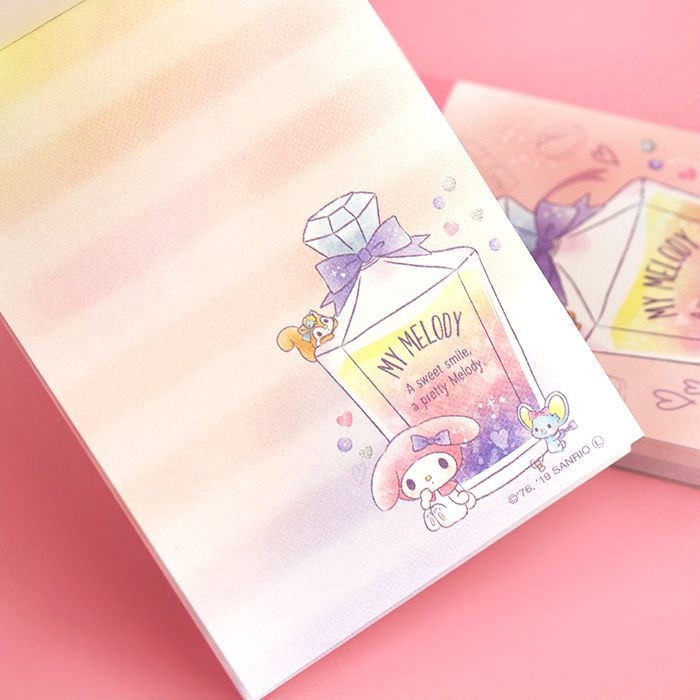 Bloc Note Sanrio My Melody - Sweet Smile / Tamtokki.com - Boutique Kawaii en France IM#9994