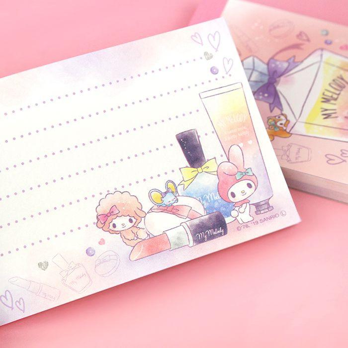 Bloc Note Sanrio My Melody - Sweet Smile / Tamtokki.com - Boutique Kawaii en France IM#9995