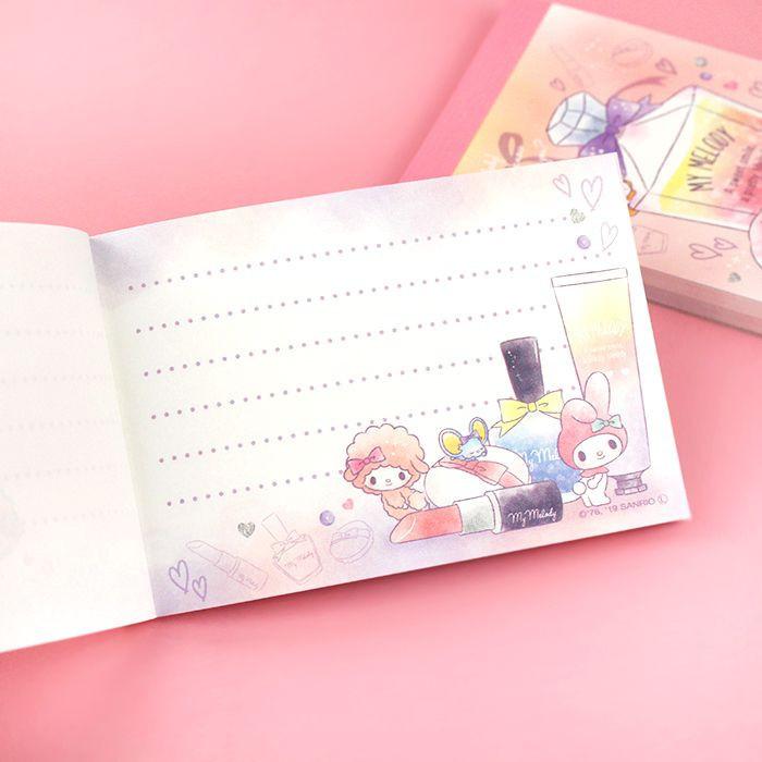 Bloc Note Sanrio My Melody - Sweet Smile / Tamtokki.com - Boutique Kawaii en France IM#9996
